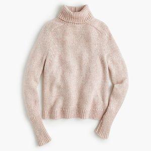 J.Crew Marled Classic Turtleneck Sweater
